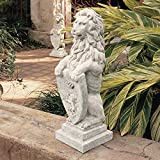 Design Toscano Beaumaris Castle Lion Sculpture For Sale