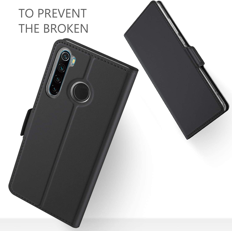 GEEMAI Diseño para Xiaomi Redmi Note 8 Funda, Protectora PU Funda ...