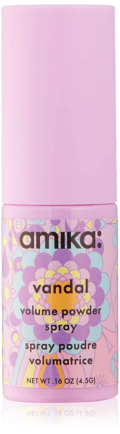 amika Vandal Volume Spray Powder, Vanilla, Citrus, Amber, 0.16 oz.
