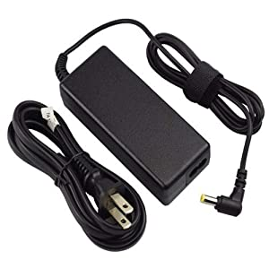 [UL Listed] AC Charger for Acer Aspire 1 3 5 E5 E 15 E15 V5 A114 E5-575 E5-575G A315 A515 E5-575-33BM E5-575G-53VG E5-575G-57D4 V5-571 V5-571P Laptop Adapter Power Supply Cord