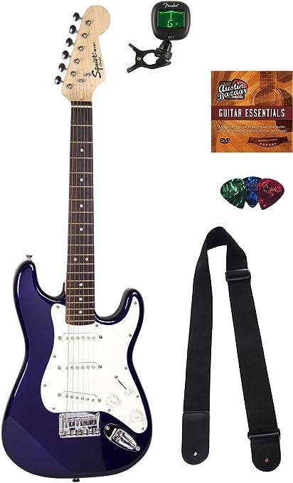 Squier por Fender edición limitada Mini Strat guitarra eléctrica ...