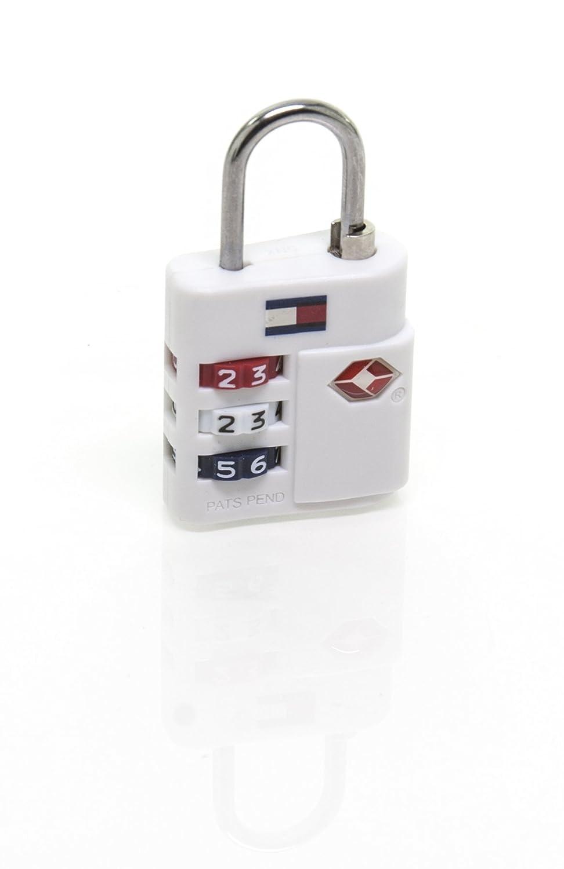 Tommy Hilfiger TSA Combination Lock, Blue GIII- Tommy Hilfiger TA000CL5