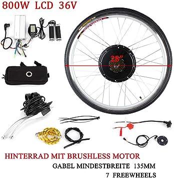 OUKANING Kit de conversión de Motores eléctricos para Bicicleta ...