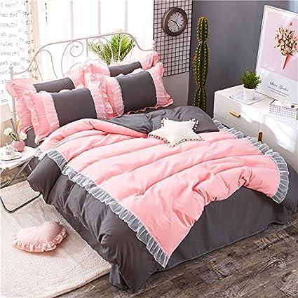 Amazoncom Kfz Bed Set Girls Magic Princess 4pcs Ht Twin Full