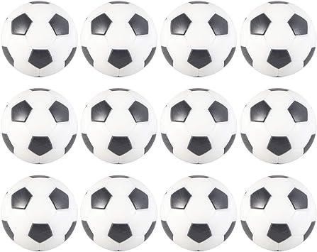 LIOOBO 12 Piezas Mesa Mini Pelotas de Fútbol Balones de Fútbol de ...