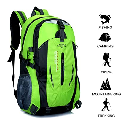 40l Backpack Climbing Bag Waterproof Hiking Travel Camping Outdoor Sport Daypack