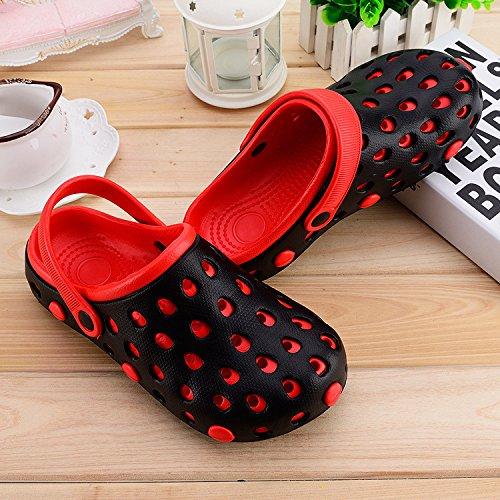 pantofole donne LIN Cool sandali Xing e plastica bagnato scarpe uomo uomini e e da pantofole rosso Big Head casual cave antiscivolo Nero sandali scarpe spiaggia fondo ZpwwdB6q