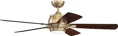 Craftmade STE52SB5-UCI Stellar 52″ Ceiling Fan