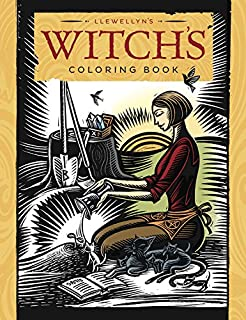 Llewellyns Witchs Coloring Book