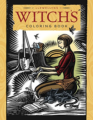 Llewellyn's Witch's Coloring Book 2