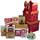 Art of Appreciation Gift Baskets Sweet Sentiments Cookie, Candy and Snacks Gift Tower