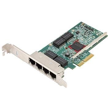 Tarjeta de Red PCIE, BCM5719 PCIE x4 4 Puertos Gigabit LAN ...