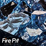 Harbor Mist Reflective Fire Glass 1/2″ Firepit Glass Premium 10 Pounds Great for Fire Pit Fireglass or Fireplace Glass For Sale