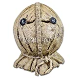 Trick or treat studios and legendary are proud to present from trick r treat, the sam burlap full head deluxe Halloween mask. This amazing replica was sculpted by bruce spaulding fuller with help from trick r treat writer and director michael dougher...