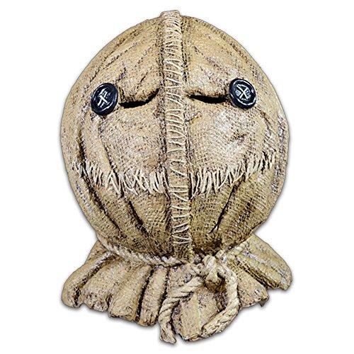 Trick Or Treat Studios Halloween 6 (Trick or Treat Studios Men's Trick R Treat-Sam Burlap Full Head Mask, Multi, One)