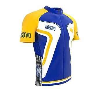 Sportbekleidung ScudoPro Kosovo Radsport Trikot mit kurzer Ärmel für Menner