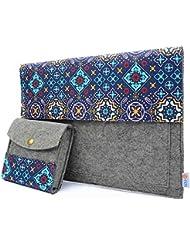 Te-Rich 13 Inch Macbook Air / Macbook Pro Retina / 12.9 Inch iPad Pro Felt and Cloth Sleeve Case Cover Bag Protective...