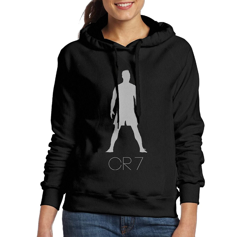 Cristiano Ronaldo CR7 Logo Sports Hoodies Sweatshirts Women's 80%OFF