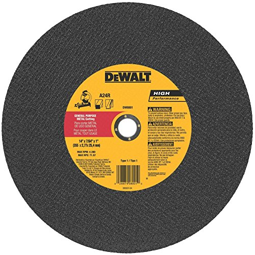Dewalt Abrasive 14 inch Cut Off Wheel - 10 Pack