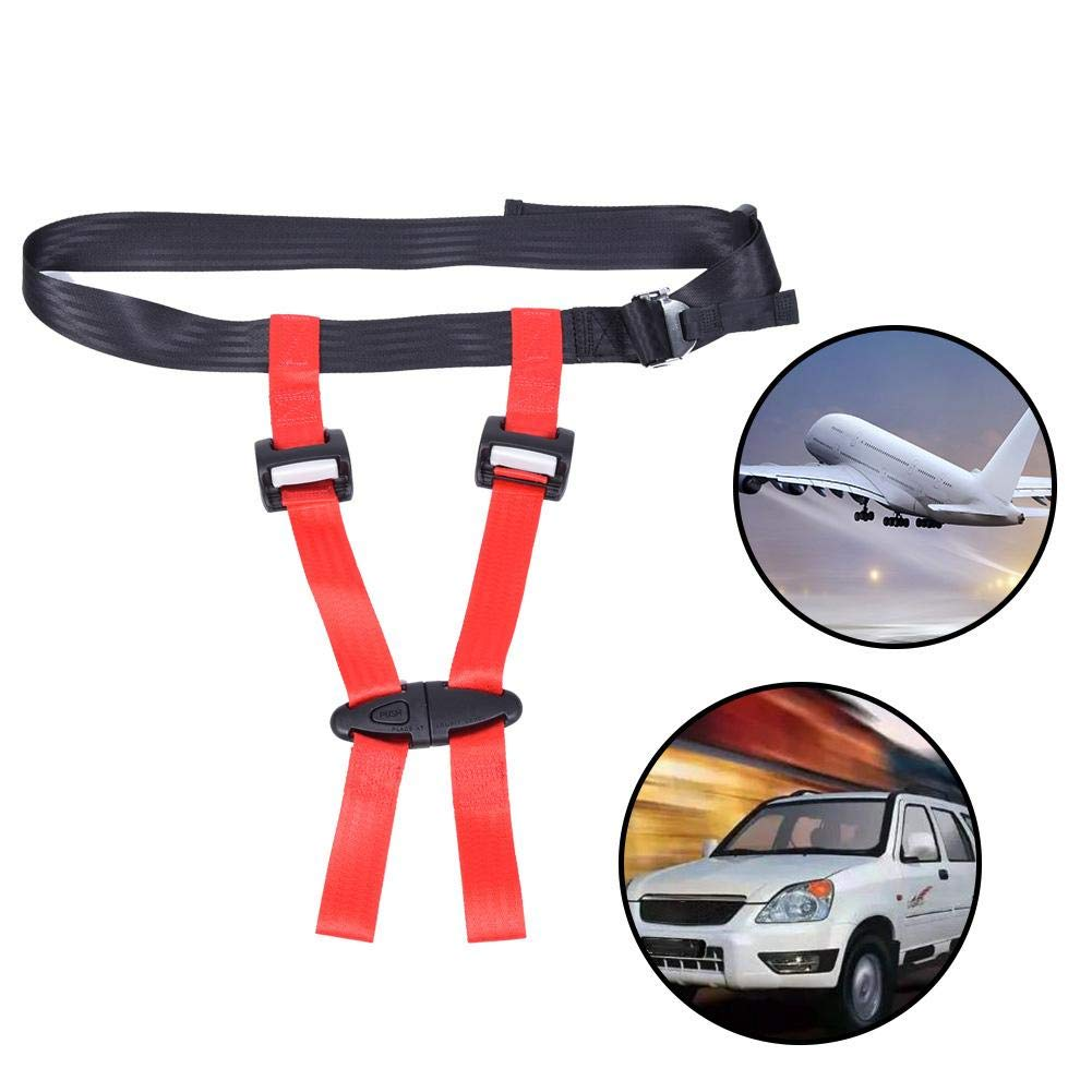 QUUY Safety Harness Children Safety Harness Car Safety Seat Strap Belt Airplane Travel Safety Harness CE Certified Portable Car Seat Belt