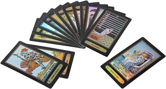 Zerodis- Juego de Cartas del Tarot, 78 Cartas / 1 Juego Baraja de ...