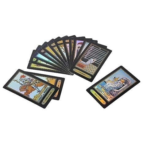 Zerodis- Juego de Cartas del Tarot, 78 Cartas / 1 Juego ...