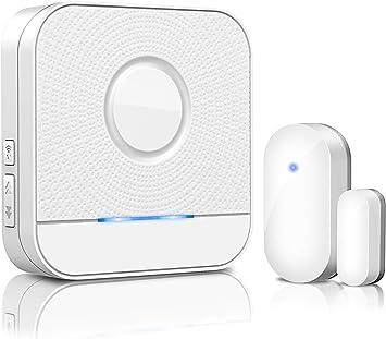 EU Wireless Window//Door Open Chime Entry Security Alarm Doorbell Magnetic Sensor