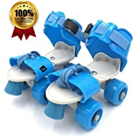 Shopme store Skates Tenacity Adjustable Quad Junior Roller Kids Suitable for Age Group 6 to 14 Years 4 Wheel Skating Shoes