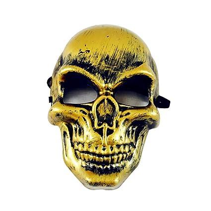 MáScaras De Terror Payaso, Zolimx Mascara Halloween Baratas Horror Mueca Noche Terror Máscara Disfraces Vestido