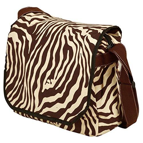 Tracolla Zebra Pop Art Tracolla Unisign Cotone Spalla