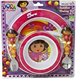 Munchkin Dora The Explorer Toddler Dining Set (Discontinued by Manufacturer)