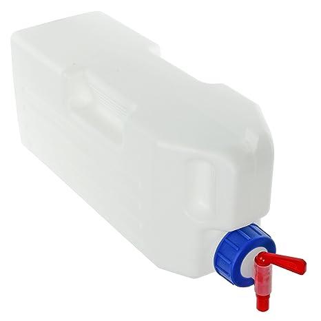 SPARES2GO Universal 3 litros de agua del tanque + estante del grifo dispensador de contenedor