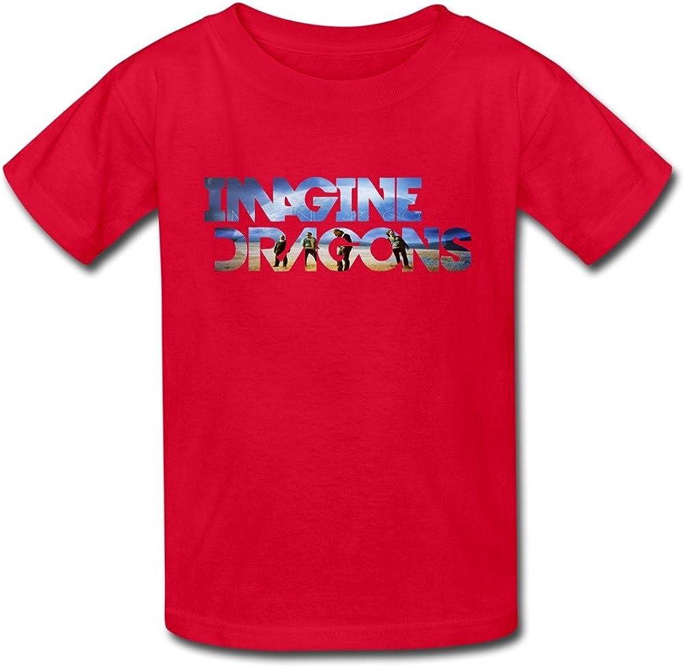 Jugend Jungen M/ädchen Imagine The Dragons T-Shirt Kurzarm Tee T Shirt Baumwolle Sommer f/ür Kinder Bekleidung