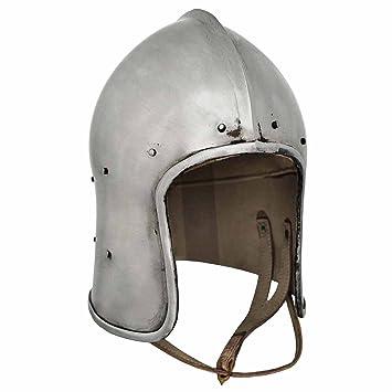 Celada abierta, Celada Medieval, Recreación histórica, Cascos Medievales, Yelmo Medievales, Recreación