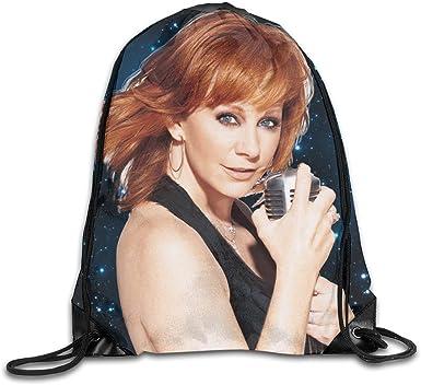CAOI UUC Reba-McEntire Gym Drawstring Backpack String Bag