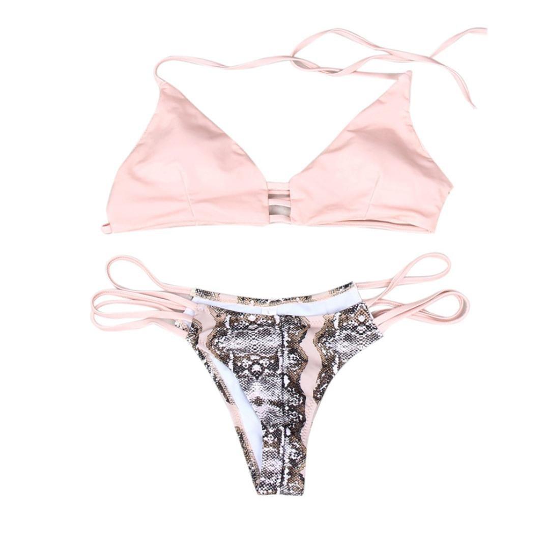 2ea2a55027 Polyester Nylon 100% brand new and high quality.Quantity  1PC. Item Type Bikini  set.Gender  Women.Season Summer. Material Polyester Nylon.Waist Mid Waist.