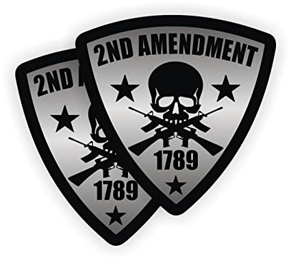 a9479be41fe Pair - 2nd Amendment Hard Hat Stickers