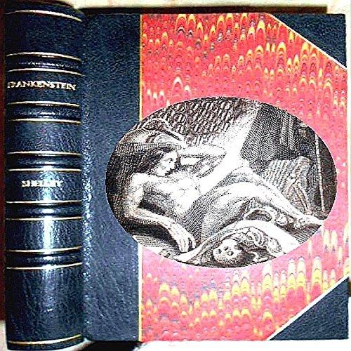 1831 FRANKENSTEIN or THE MODERN PROMETHEUS MARY SHELLEY 1ST ILLUSTRATED EDITION & GHOST SEER FRIEDRICH VON SCHILLER (Frankenstein Leather Bound)