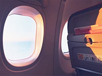 Amazon Com Csfoto 7x5ft Background For Airplane Seat And Window