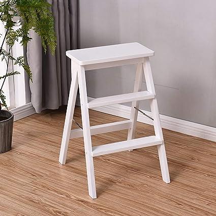Surprising Amazon Com Esperanzaxu Stool Zdd1 Foldable Solid Wood Load Machost Co Dining Chair Design Ideas Machostcouk