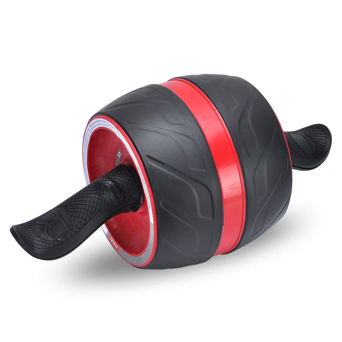 COVVY Fitness Bauchtrainer AB Carver Pro mit Knieauflage F/ür Fitness Bauchmuskeltraining Muskelaufbau Bauchroller f/ür Frauen und M/änner