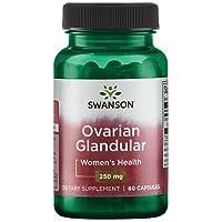Swanson Ovarian Glandular Women's Hormone Ovarian Health Hormonal Balance Support...