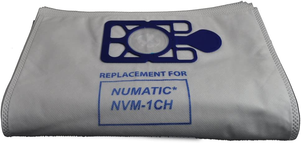 Numatic Vacuum Cleaner Bags Fits 180 & 200 Series NVM-1CH