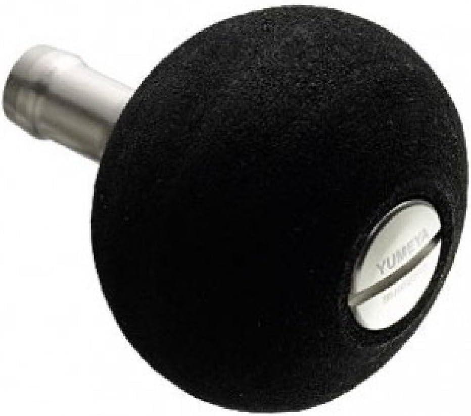 SHIMANO Reel Yumeya Aluminum Round Type Power Handle L-Knob Type-B Black/&Gold