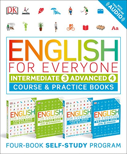 English for Everyone Slipcase: Intermediate and Advanced