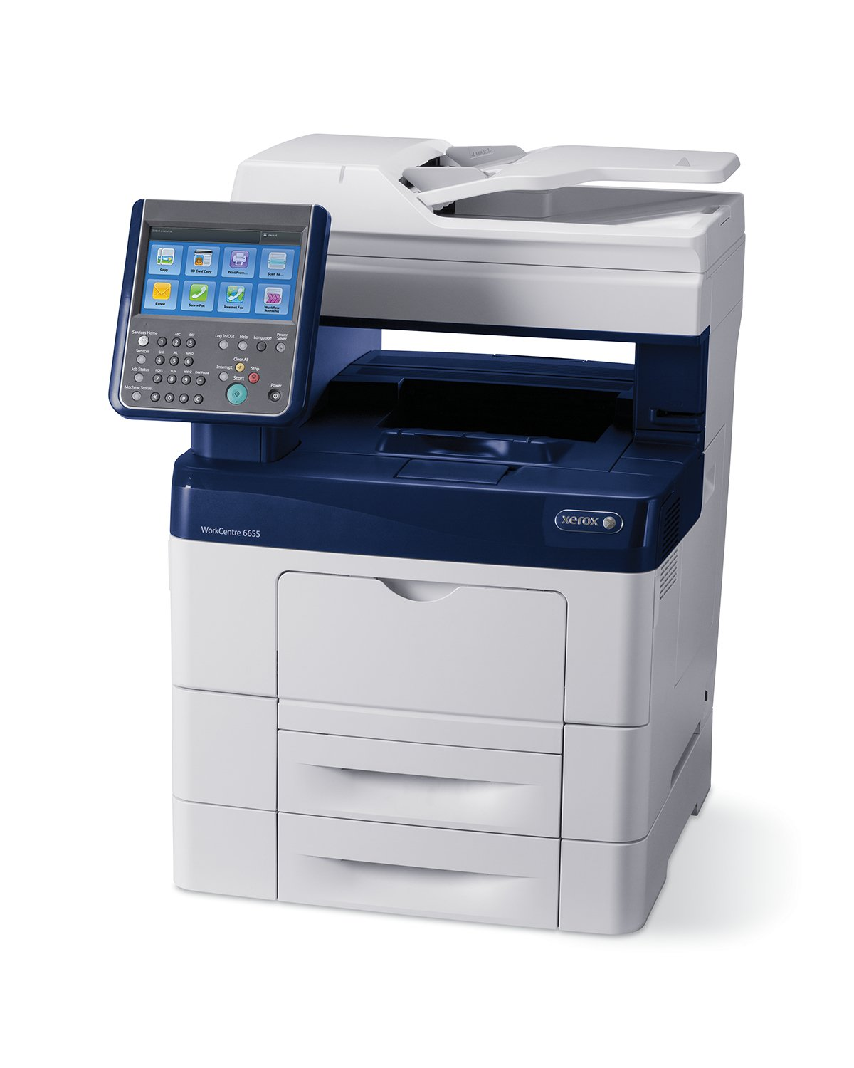 Amazon com xerox workcentre 6655 x color printer with scanner copier and fax electronics