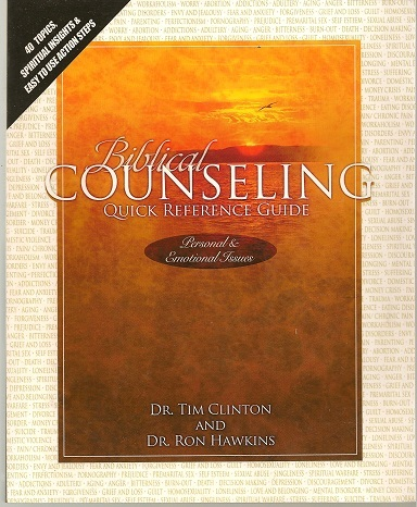 Biblical Counseling Quick Reference Guide: Personal and Emotional Issues ebook