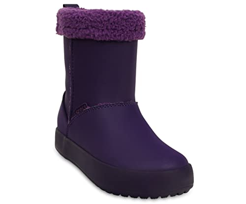 crocsColorlite Snug Boot Gs - Botines Unisex Niños, color Morado, talla 37-38: Amazon.es: Zapatos y complementos