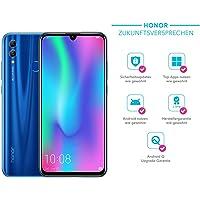 Honor 10 Lite 64 GB Smartphone BUNDLE mit 24MP AI Selfie Kamera (6,21 Zoll),Dual-Kamera, Dual-SIM, Android 9.0) Sapphire Blue + gratis Protective Cover [Exklusiv bei Amazon] - Deutsche Version
