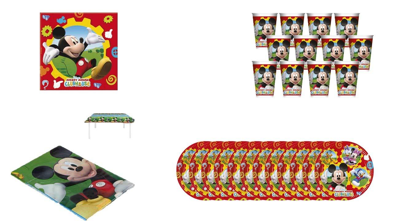 ALMACENESADAN 1075, Pack Fiesta o cumpleaños Disney Mickey ...
